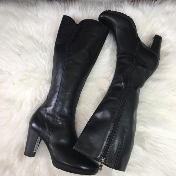 info for 8a57e 5e904 NWT. Caprice Black Leather Boot. Size 7 NWT